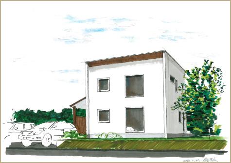 新潟市西区平島3丁目 新築住宅 全3棟 完成しました